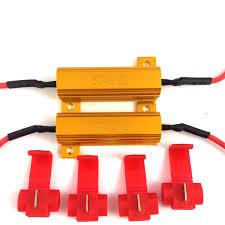 jdm astar 50w 6ohm load resistors hyper flash turn signal blink Led Load Resistor Wiring Diagram Led Load Resistor Wiring Diagram #94 LED Blinker Resistor Install