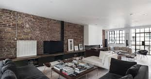 29 eposed brick wall ideas for living