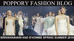 SIRIVANNAVARI AND S'HOMME SPRING SUMMER 2019 COLLECTION