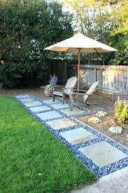 diy stone patio ideas creative outdoor spaces and design ideas large patios stepping stone patio over diy stone patio ideas backyard