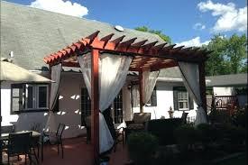 deck outdoor screen curtains