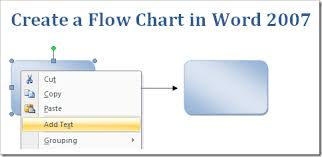 How To Insert A Flow Chart Into Word Create A Flow Chart In Word 2007