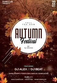 Fall Festival Flyer Free Template Download The Best Free Autumn Fall Flyer Psd Templates