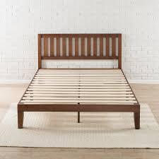 latest wooden platform bed frame with winston porter dalila solid wood platform bed reviews wayfair