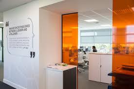 office orange. Office Orange. Design, Branding, Experiential McKesson, Henry J Lyons Orange
