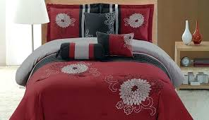red grey and black bedding sheets plaid and queen set nursery striped comforter gray alluring sets