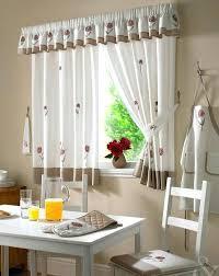 Kitchen Curtain Patterns Magnificent Kitchen Curtains For Lovely Curtain Patterns Ideas Ca Designs