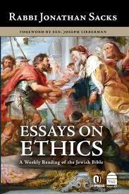 essays on ethics a weekly reading of the jewish bible jonathan essays on ethics a weekly reading of the jewish bible jonathan sacks 9781592644490 com books