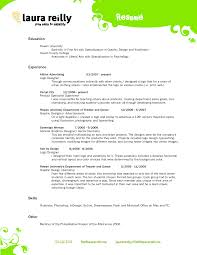 New Cosmetology Resumes Template Best Templates