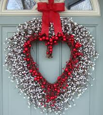 valentine wreaths for your front doorWonderful DIY 20  Valentines Day Wreaths
