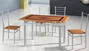 Restaurant tables and chairs stainless steel dining table designs mental  legs cheap wooden dining table and