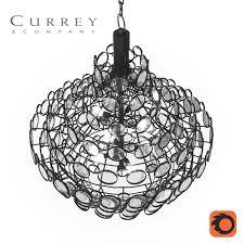 currey and company chandelier galahad 3d model max fbx 4