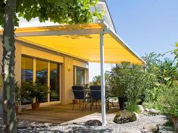 patio awning side panels retractable patio shade awnings