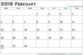 editable calendar march 2018 february 2018 calendar editable