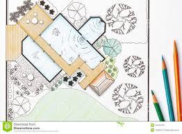 landscape architecture blueprints. Wonderful Architecture Download Landscape Architect Design Garden Plans For Backyard Stock Photo   Image Of Drafter Landscape Intended Architecture Blueprints A