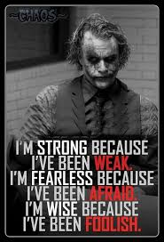 Joker Quotes Awesome Yep You Learn From Your Mistakes Good Thinking Pinterest