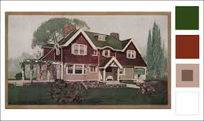 arts and crafts exterior paint colors. 1911 sherwin williams house paint arts and crafts exterior colors