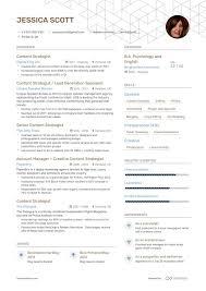 Digital Strategist Resume 6 Content Strategist Resume Examples Samples