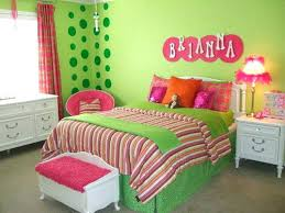 Pink And Green Girls Room Girls Bedroom Pink And Green Girl Room