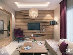Extruded Sections Wooden Feature Wall Both Design