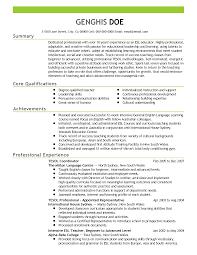 Esl Resume Esl Resume Examples Examples Of Resumes 12