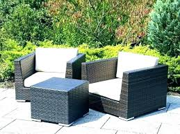 patio furniture wicker no cushions cushion covers outdoor