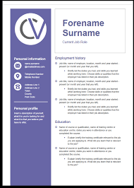Cleaner Cv Template Career Advice Blue Arrow