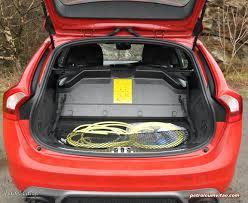 volvo v60 trunk space. 2014 volvo v60 phev plug-in hybrid d6 awd geartronic r-design lux nav trunk space