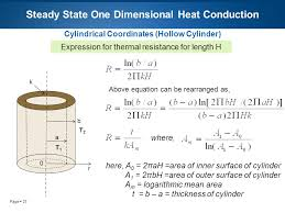 27 page 27 steady state one dimensional heat conduction cylindrical coordinates hollow
