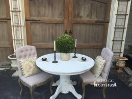 shabby chic round table 325