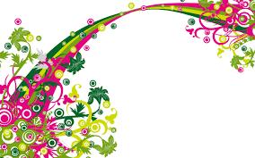 Bright Floral Wallpaper Borders ...