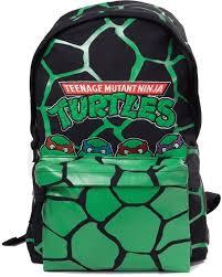 nickelodeon rugzak ninja turtles 13 liter groen zwart vergroten