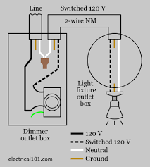 dimmer switch wiring electrical 101 conventional dimmer wiring diagram
