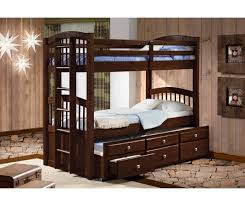 twin twin angelica captain s trundle bunk bed cappuccino