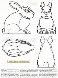 Wood Carving Patterns Best Bunny Carving Wood Carving Patterns WoodArchivist