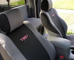 for toyota tacoma 2 7l 4 0l 2005 2008 front seat covers black gray