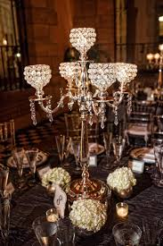 5 arm crystal candelabra centerpiece wedding hanging crystals votive holders crystal candle holders romantic bling event decor globe