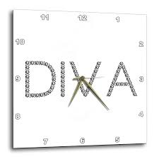 Design Diva Amazon Com 3drose Alexis Design Typography Diamond