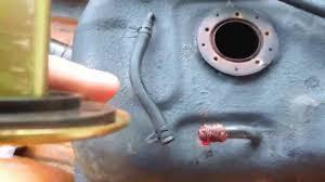 suzuki samurai gas tank clean out coat install 2 of 2 suzuki samurai gas tank clean out coat install 2 of 2