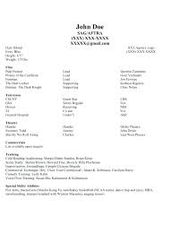 Resume For Beginners Beauteous How To Make A Modeling Resume With No Experience Sample Beginners