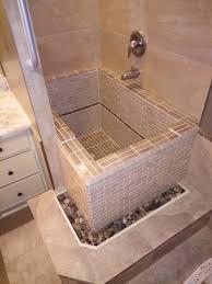 roman soaking tub.  Roman Roman Style Concrete Deep Soaking Tub With Tiles  Inside Soaking Tub B