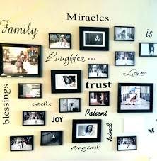 family picture frame ideas lovely ideas family frames wall decor family photo frame craft ideas