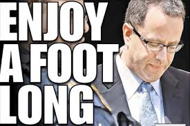 jared form subway ny post sparks outrage with jared fogle enjoy a foot long prison
