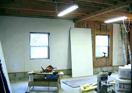 interior wall finishing how to finish garage walls full image for ideas adorable fin