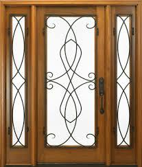 Exterior Design: Wonderful Fiberglass Entry Door With Sidelights ...