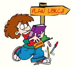 Znalezione obrazy dla zapytania plan lekcji obrazki