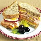 cheddar apple   ham cheese sandwiches