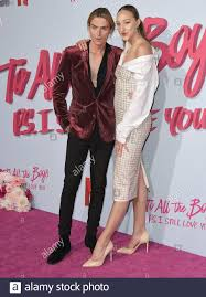 Los Angeles, USA. 03rd Feb, 2020. (L-R) Luke Eisner and Ava Michelle at the  Netflix's TO ALL THE BOYS P.S. I STILL LOVE YOU Premiere held at the  Egyptian Theatre in Hollywood,