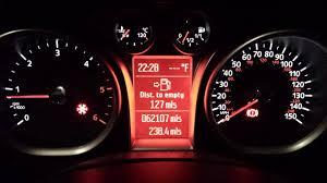 Ford Focus Red Cog Warning Light 2009 Focus Fix For No Indicators Outside Temp Red Frost Hazard Handbrake Light