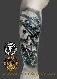 Tetování Motorka Tetování Tattoo
